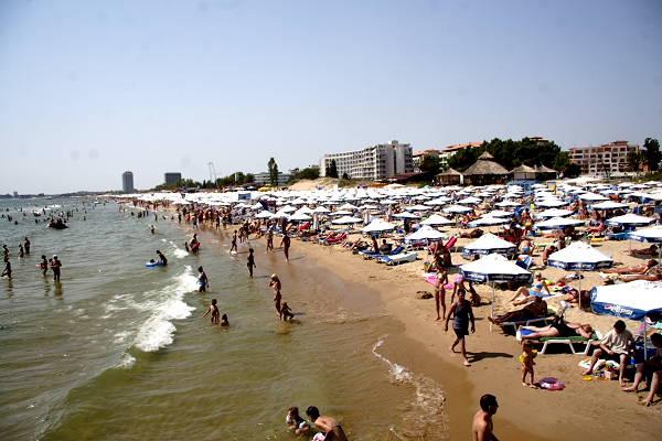 Пляж Какао Бич Солнечный Берег